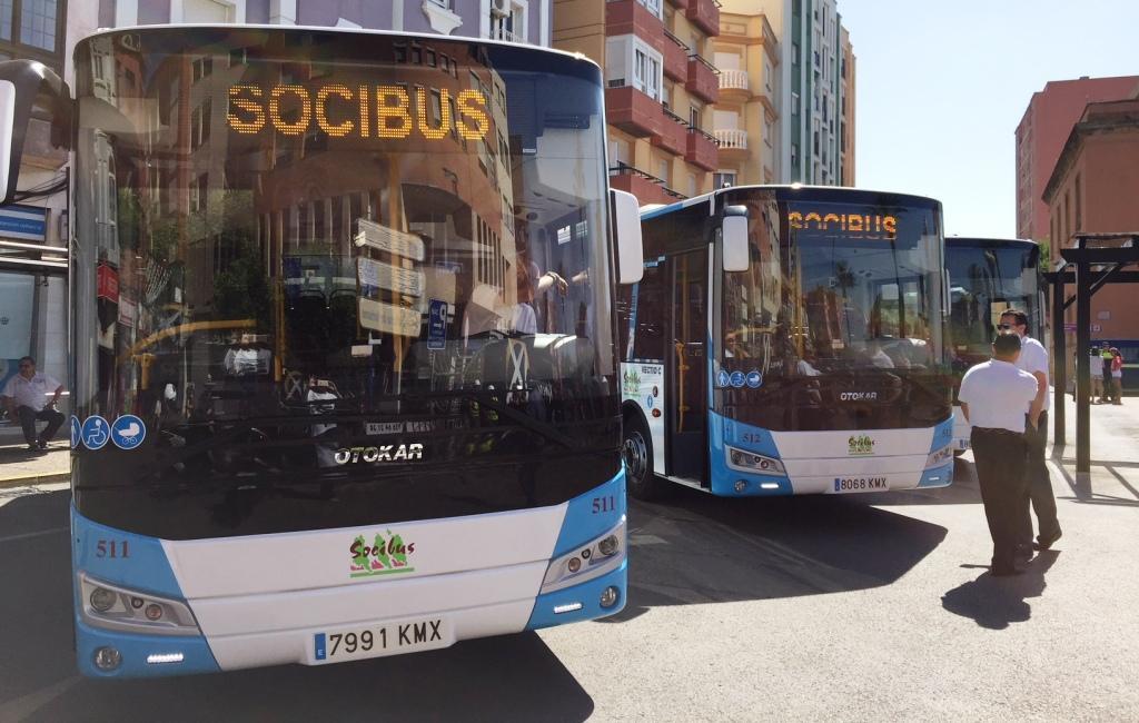 El servicio de autobús registró a 31 de agosto 85.817 pasajeros más que durante 2018 completo