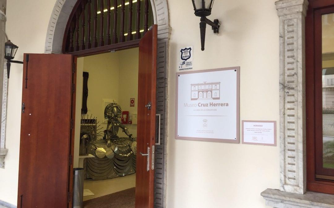 Cultura confirma el cierre del Museo Cruz Herrera desde el 8 de enero por la realización de trabajos de mantenimiento del edificio