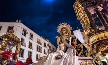Una fotografia de Ildefonso Pérez López sirve para anunciar laSemana Santa de 2019 en La Linea