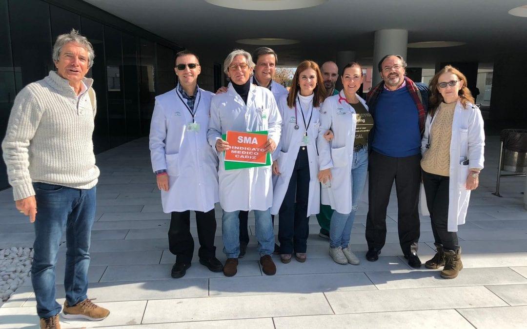 El Sindicato Médico del Hospital es apoyado por la Plataforma Cívica Del Hospital Linense y la Salud