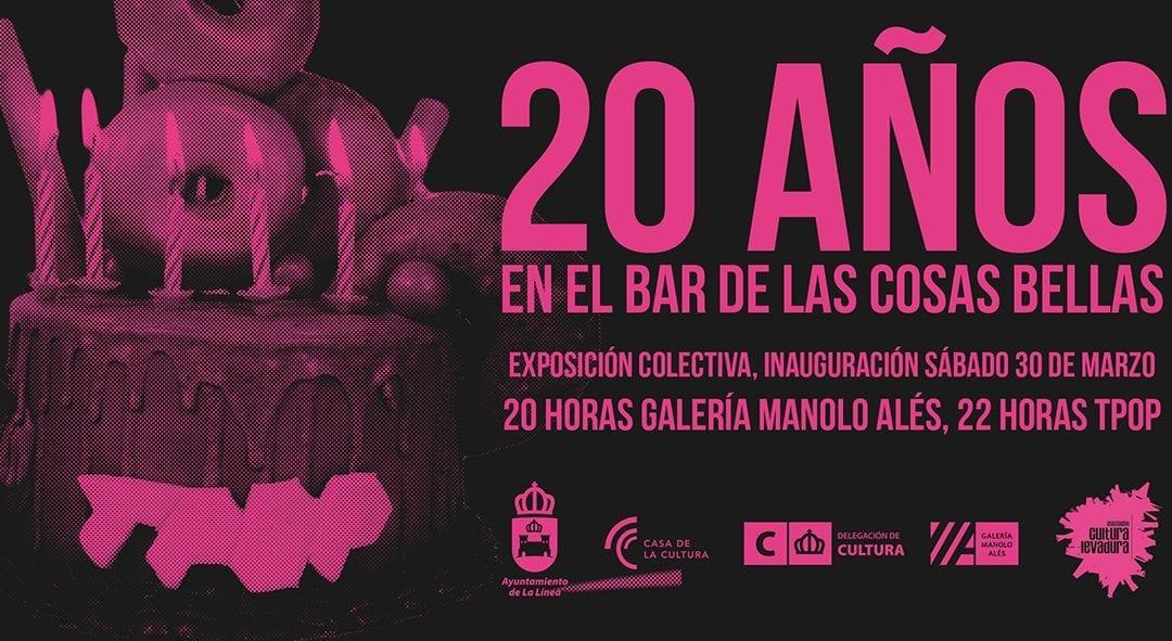 """Mañana, doble inauguración en Tpop y Manolo Alés de la exposición colectiva """"20 años en el bar de las cosas bellas"""""""