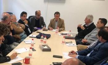 Asamblea del Grupo Transfronterizo, el objeto principal de ésta ha sido el cambio en la presidencia