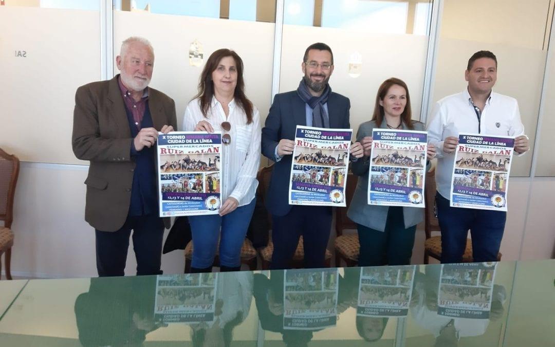 Presentado el X Torneo Semana Santa Ciudad de La Linea Supermercados Ruiz Galán