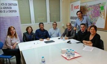 El PSOE presenta su proyecto para la recuperación de la playa de Poniente y una nueva zona de ocio y comercial