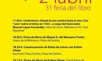 Mañana en la XXXI Feria del Libro, primera jornada con actividades para niños y adultos