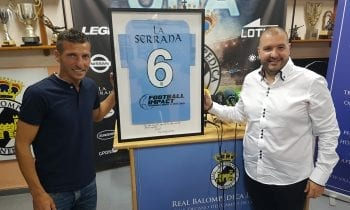 -VIDEOS-Rueda de prensa de Raffaele Pandalone y presentación de Ismael Chico como Director Deportivo de la Real Balompédica Linense