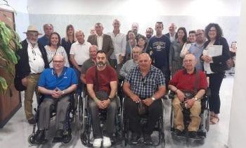Fegadi Cocemfe y su movimiento asociativo muestran su fortaleza y necesidades al nuevo Delegado Territorial en materia de Igualdad y Politicas Sociales de la Junta de Andalucia en Cadiz