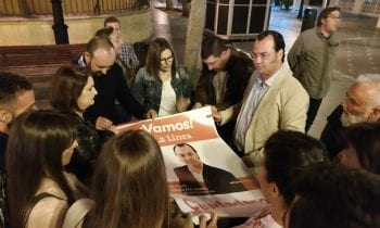Declaracines Álvaro Marfil, noche de arranque de campaña electoral