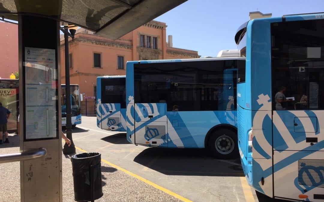 Socibus actualiza el sistema de información en el interior de los autobuses urbanos y el sistema de videovigilancia