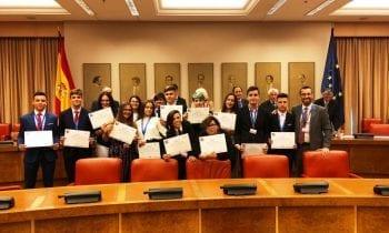 El alcalde en funciones y la concejal de Educación felicitan al IES Antonio Machado tras obtener el primer premio de la Fundación Antonio Machado