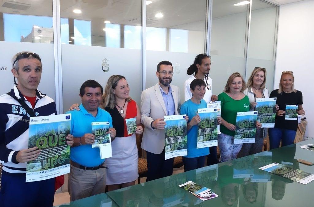 """Hoy se ha presentado """"Parqueando"""", jornada lúdica que se celebrará este sábado en el parque Princesa Sofía"""