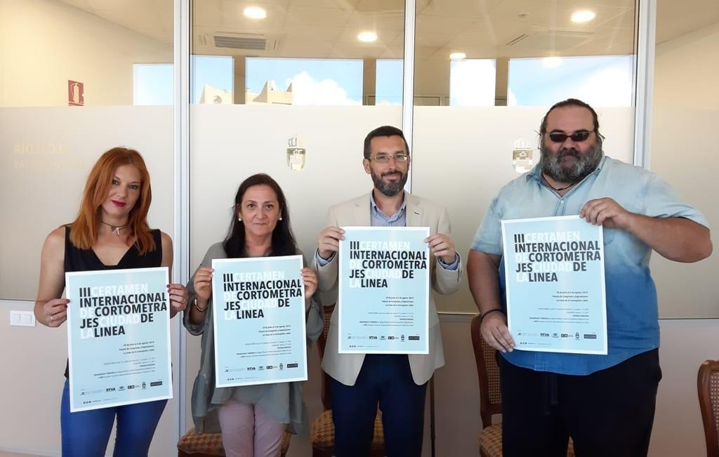 Presentado el cartel del III certamen internacional de cortometrajes 'Ciudad de La Línea'