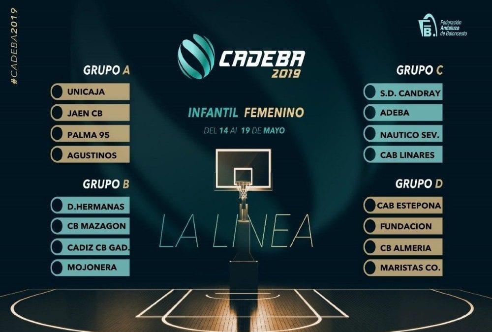 ¡¡ Arranca el Campeonato de Andalucía de baloncesto Infantil femenino en la Ciudad de La Línea !!