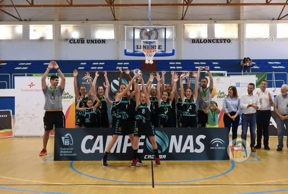 El CAB Estepona se ha proclamado Campeón de Andalucía de clubes en categoría Infantil Femenina tras ganar a UnicajaAndalucía por el tanteo final de (57-58)