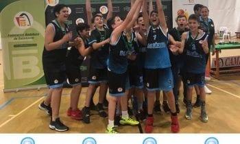 El minibasket masculino Lavandería la Colada ULB, se proclama subcampeón provincial y obtiene pasaporte directo al campeonato de Andalucía.