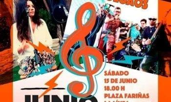La Pompa Jonda, Enkalomao, Rita Blues y The Colgaos, el 15 de junio en el IV Junio Joven