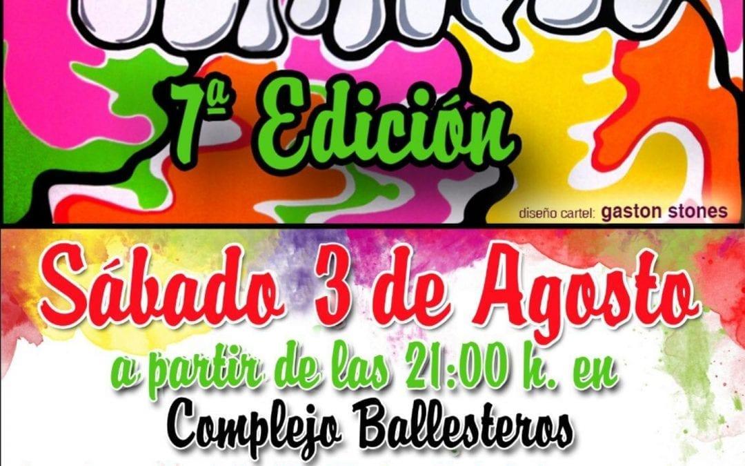 Fiesta Guateque 7° edición día 3 Agosto 2019 a las 21.00 horas.