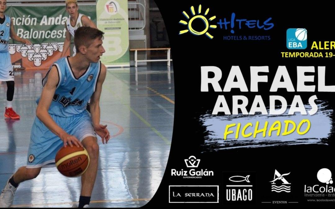 ULB sigue apostando por su cantera. Rafael Aradas Garcés, jugador formado en la cantera del ULB se incorpora  al primer equipo.