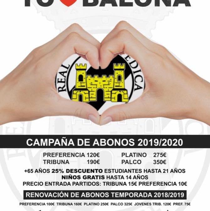 Campaña Abonate!!! a la R.B. Linense y Trofeo Ciudad de La Linea 27 Julio 2019