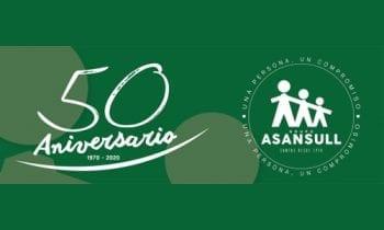 El Ayuntamiento felicita al Grupo Asansull por sus cincuenta años de existencia
