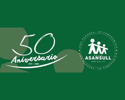 Inaugurada la exposición por los 50 años de Asansull con un emotivo acto  que recuerda a las familias fundadoras y reivindica la plena inclusión de las personas con capacidades diferentes