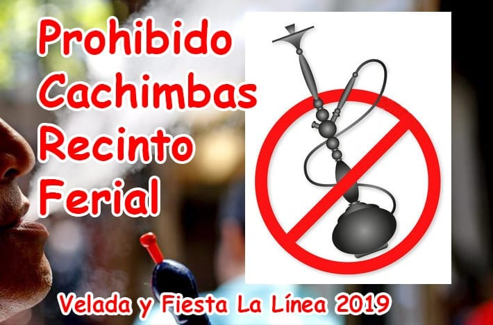Phohibición de Cachimbas en Veladas y Fiestas de 2019.