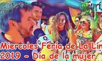 (Vídeo)-Miércoles día de la mujer en la Feria de La Linea 2019