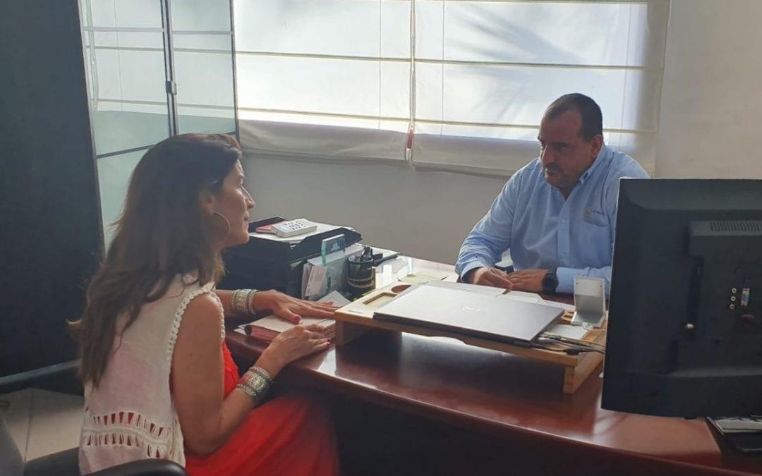 La concejal de Turismo inicia contactos con Oh!tels Campo de Gibraltar