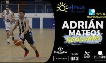 OH!TLES ULB renueva a Adrián Mateos, sexto jugador que se incorpora al proyecto para la temporada  2019/2020