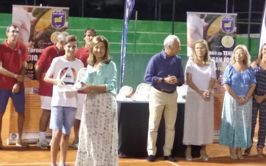 El joven linense Manuel Damián, se ha proclamado nuevamente Campeón de unos de los torneos más prestigiosos del circuito andaluz, el torneo San José
