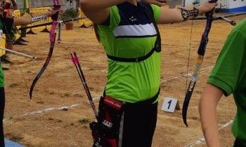 Mariel Becerra Prieto se ha proclamado campeona en el Campeonato Provincial.