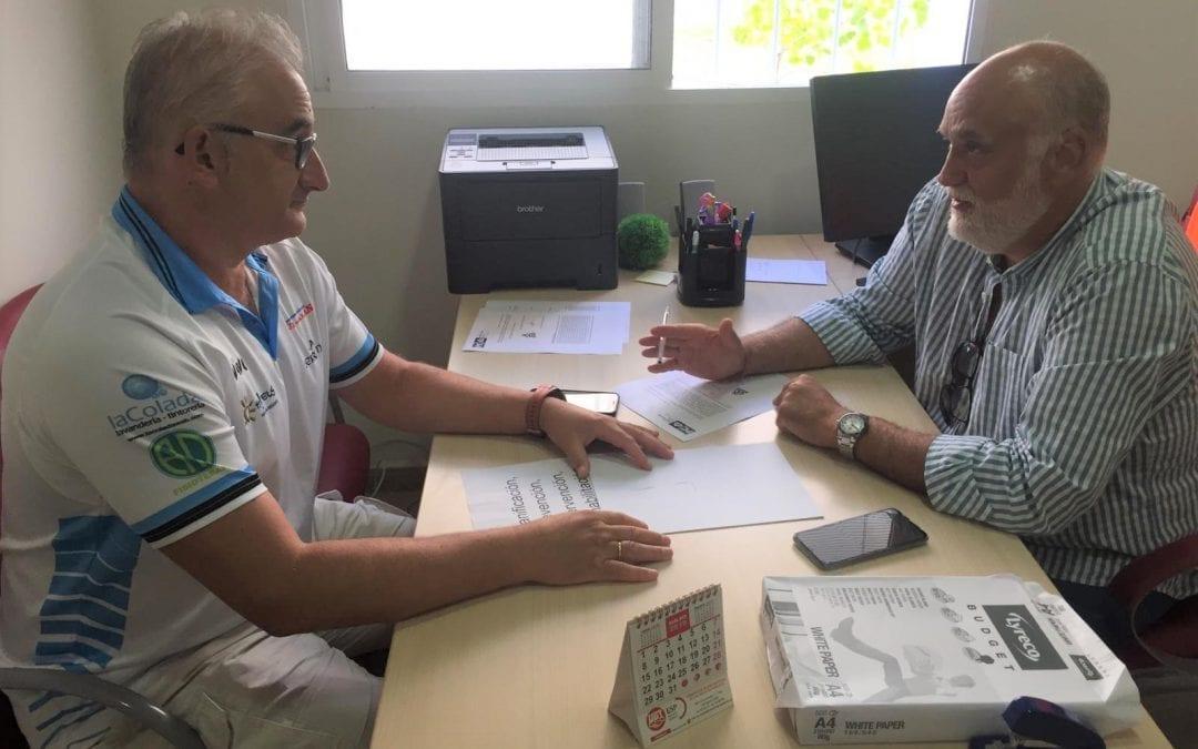 La delegación de Deportes colabora con la organización en La Línea del IV Circuito de Baloncesto Tres contra Tres que se celebra el sábado