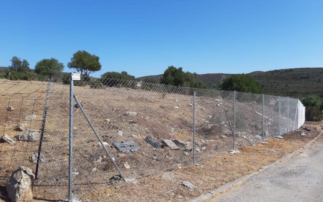 El ayuntamiento acomete la limpieza de tres parcelas en Santa Margarita