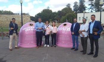 """Esta mañana se ha presentado la campaña """"Recicla por ellas"""", en favor de la lucha contra el cáncer de mama"""