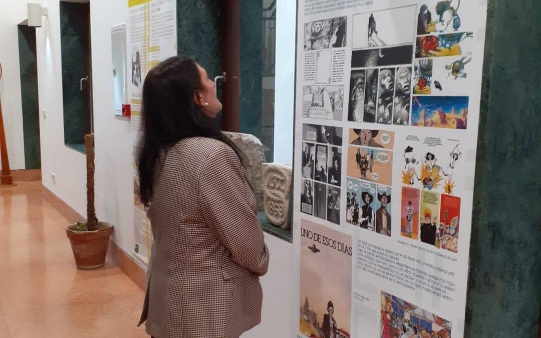 Una exposición muestra en la Biblioteca José Riquelme lo mas destacado del cómic andaluz