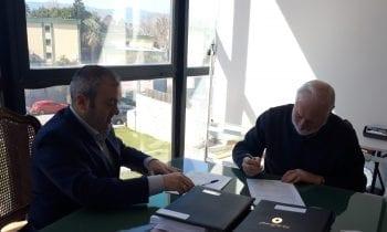 Firmado el contrato de servicio de videovigilancia para edificios municipales