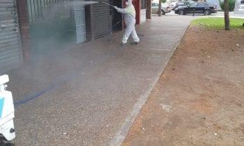 Los trabajos de desinfección de Limpieza se han desarrollado en las zonas de Los Junquillos y San Pedro
