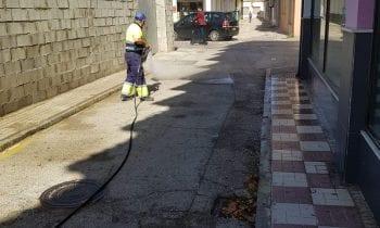 Limpieza continua con los trabajos de desinfección de la ciudad pese a finalizar el Estado de Alarma