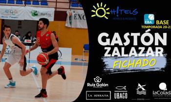 El base Argentino Gastón Zalazar quinto fichaje del OH!TELS ULB