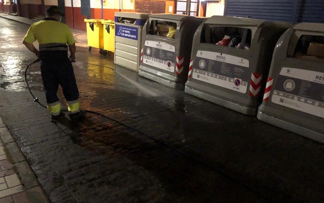 Ayuntamiento y Arcgisa reordenan y refuerzan el servicio de recogida de residuos para atajar los problemas relacionados con las basuras