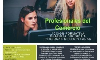 Igualdad difunde un curso on line gratuito de la Cámara de Comercio destinado a desempleados