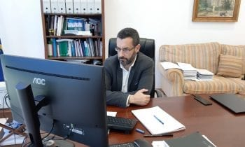 El alcalde anuncia una nueva línea de subvención municipal de 150.000 euros para las pequeñas empresas cerradas por la pandemia