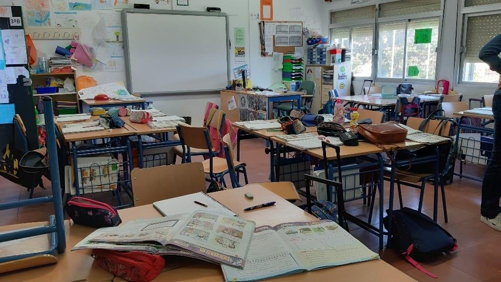 Educación contabiliza 550 alumnos confinados por coronavirus o por contacto con infectados