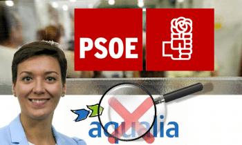 El PSOE ve indicios de falta de transparencia en la empresa de Aqualia.