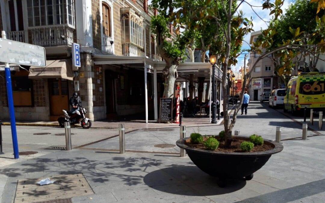 El plazo para que los establecimientos de hostelería soliciten la renovación anual de ocupación de vía pública termina el 31 de marzo