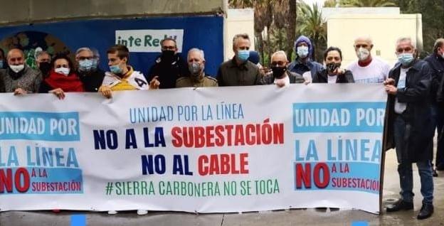 Unidad Por La Línea convoca una manifestación contra la subestación eléctrica para el 5 de junio