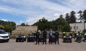 La Policía Local contará con cinco quads, un furgón, dos motocicletas, dos segways, un dron y dieciocho agentes para la vigilancia de playas