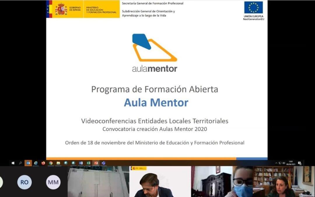 """El programa """"Aula Mentor"""" ofertará más de 200 cursos y está dirigido a mayores de 18 años para aumentar la empleabilidad"""