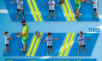 Abiertas las inscripciones para las escuelas base de tenis y pádel destinadas a menores de 18 años
